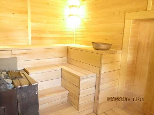 Отделочные работы деревянных домов, бань, саун