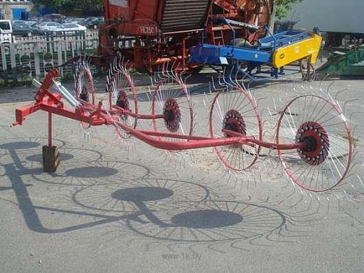 Грабли-ворошилки 5 колесные