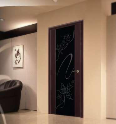 Дверь межкомнатная LUIDOOR Альмека черный дуб