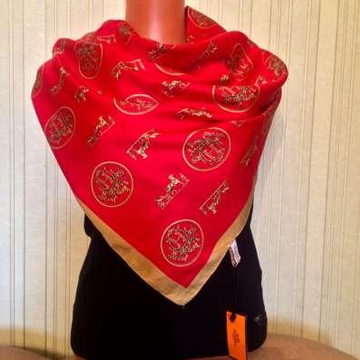 Новый шёлковый платок hermes