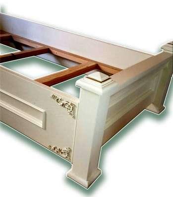 Одноместная эксклюзивная кровать без матраса в г. Алматы Фото 2