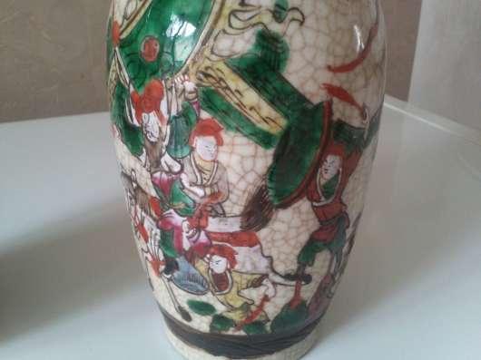 Антикварные китайские вазы, конец 19 века