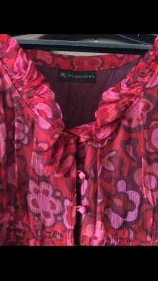 Платье-халат BURBERRY, оригинал, натуральный шёлк в Зеленограде Фото 1