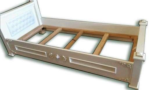 Одноместная эксклюзивная кровать без матраса в г. Алматы Фото 3