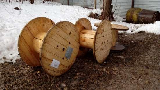 Барабан кабельный деревянный