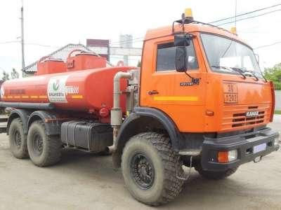 топливозаправщик КАМАЗ 43118 в г. Усинск Фото 1