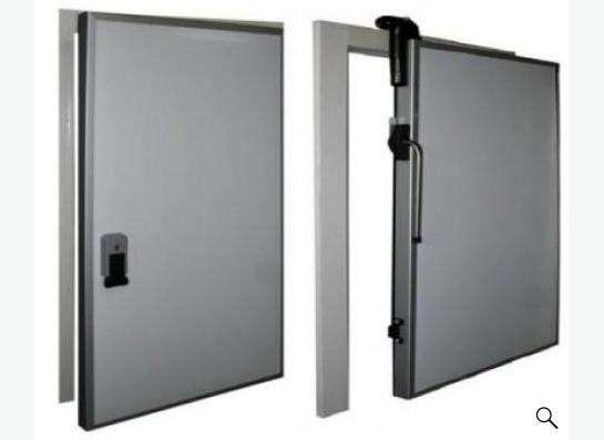 Дверь холодильной камеры склада низкотемпературная