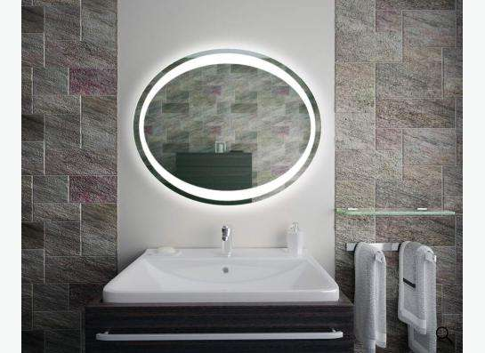 Зеркало с подсветкой для ванной. Доставка в любой город