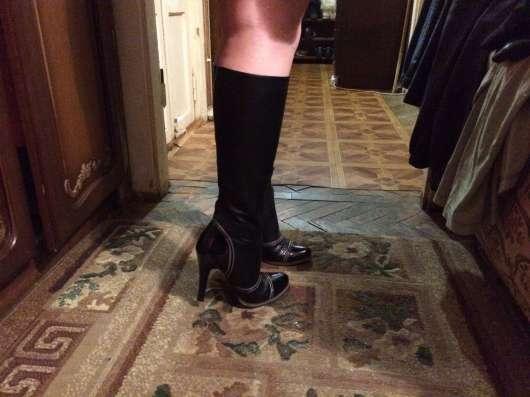 Сапоги и туфли 38 размера, черного цвета в Москве Фото 2