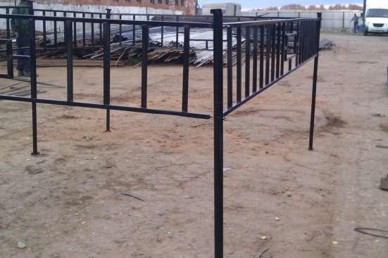 Ритуальные ограды с бесплатной доставкой в Воскресенске Фото 1
