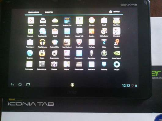 Aser a700 iconia tab