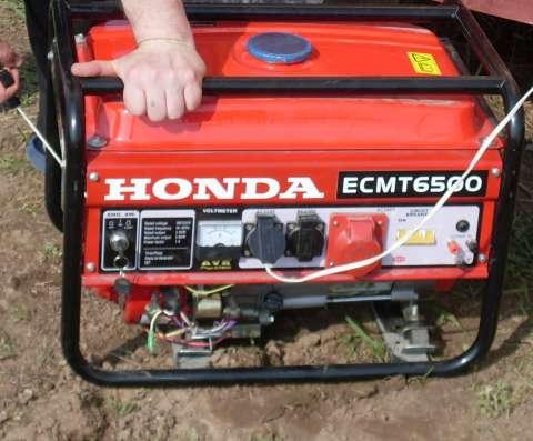 3-х фазный бензиновый генератор Honda