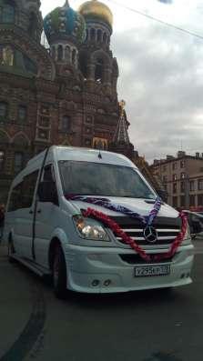 Заказ микроавтобусов / автобусов 5-8-19- мест в Санкт-Петербурге Фото 1