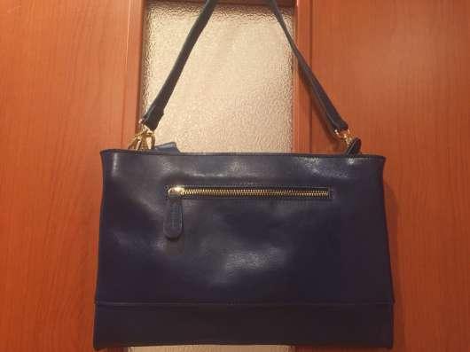 Новая кожан сумка