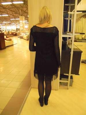 Платье черное коктельное, новое, р.44-46(М-L) в Москве Фото 4