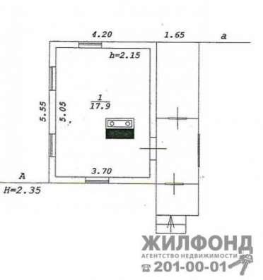 дом, Новосибирск, Дальняя, 18 кв.м. Фото 4