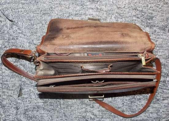 Сумка, барсетка кожанная мужская в Саратове Фото 3