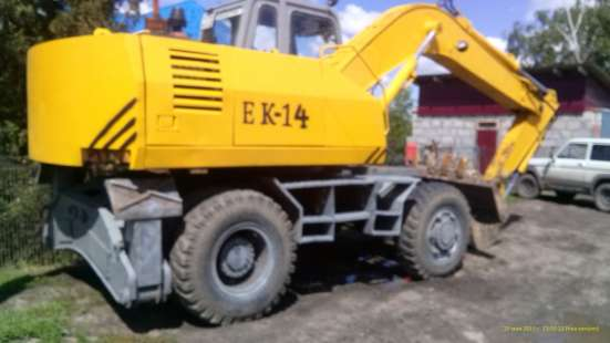 Продам экскаватор ЕК-14 в Барнауле Фото 1