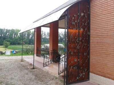 Металлические двери, решетки, ворота