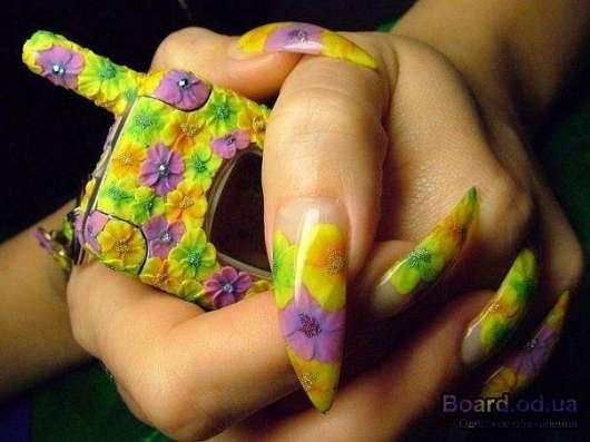 Обучение наращиванию и дизайну ногтей всего за4000 руб