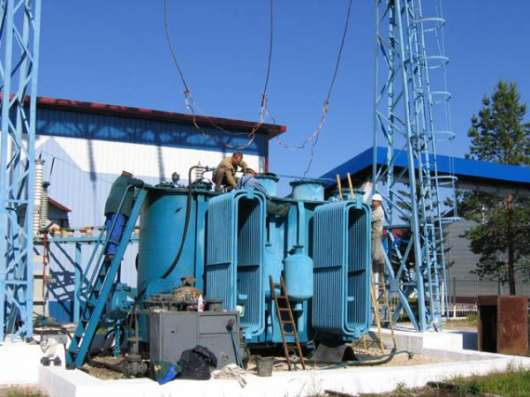Ремонт силовых трансформаторов и трансформаторных подстанций