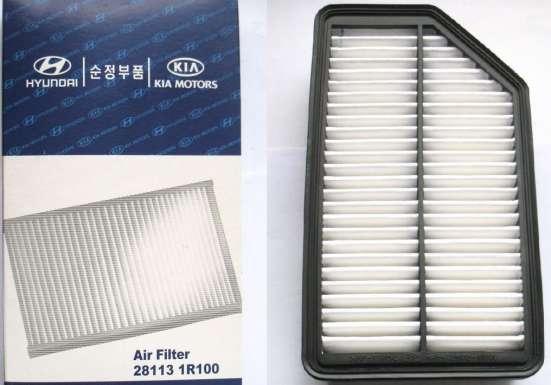 Фильтр воздушный Goodwill на Hyundai Accent