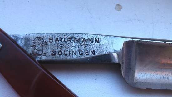 Опасная Бритва Германия Solingen в Саратове Фото 2