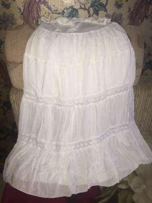 Летний комплект, юбка с топом