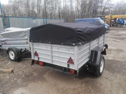 Прицеп КРД 050122 для автомобиля с тентом 2150х1300 в Москве Фото 5