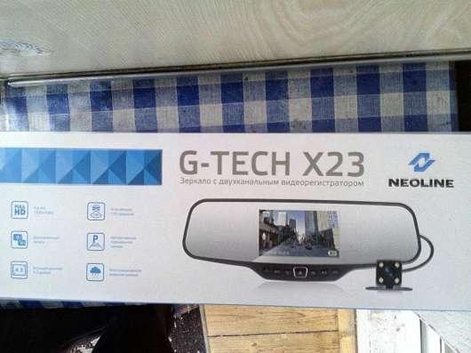 Видеорегистратор зеркало G-TECH X23 NEOLINE в Москве Фото 2