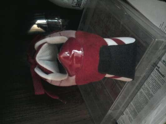Кроссовки замшевые красные на танкетке