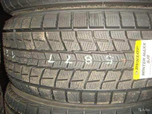 Новые японские Dunlop 225/70 R15 Winter Maxx SJ8
