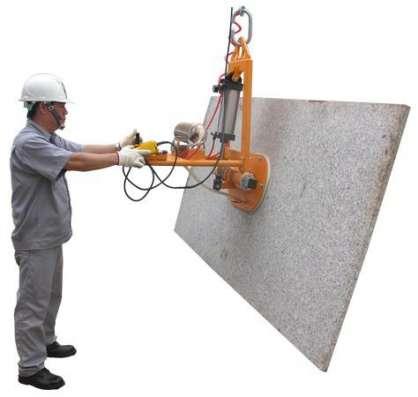 STONE VACUUM LIFTER 25 куумный подъемник (присоска) для каменных плит с функцией наклона (с пневмоцилиндром) SVL25