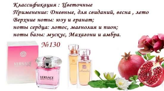 Номерные Духи-стойкие, направление известных брендов в Краснодаре Фото 3