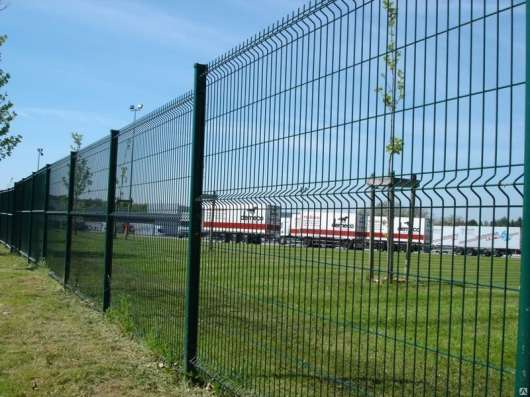 Забор еврозабор 3Д из сварной сетки