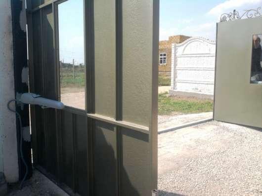 Ворота секционные, откатные, распашные