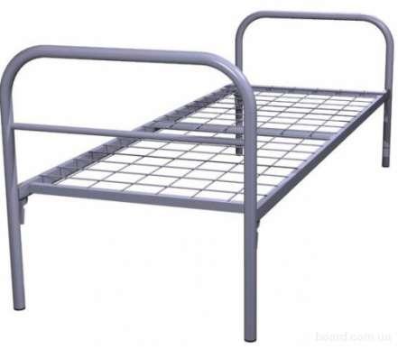 Металлические кровати с ДСП спинками для больниц, кровати для гостиниц, кровати для студентов, кровати для пансионатов. в Сочи Фото 1