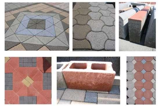 Вибропресс для производства бетонных блоков, брусчатки Sumab