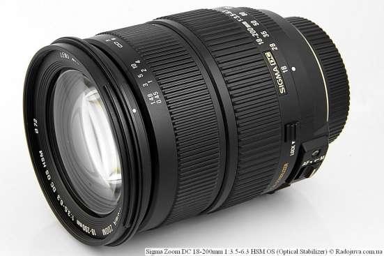 Sigma Zoom DC 18-200mm 13.5-6.3 HSM OS для Nikon