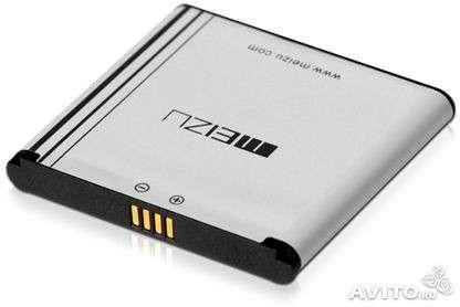 Новый аккумулятор для Meizu M9