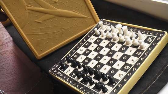 Шахматы дорожные карманные. СССР в Саратове Фото 1