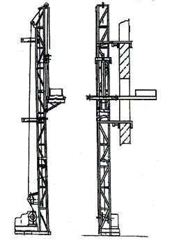 Подъёмник мачтовый строительный ПМС-500, ПМС-1000