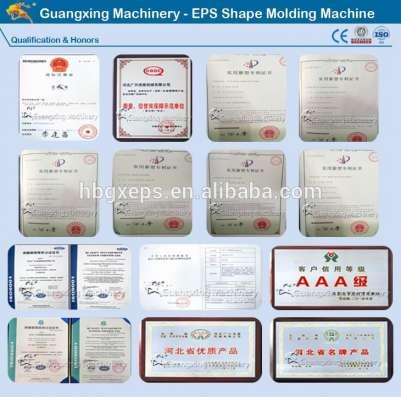 Строительство EPS пеноблоков формовочная машина