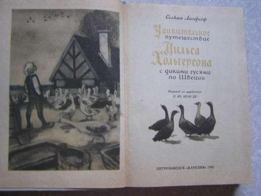 Удивительное путешествие Нильса Хольгерсона с дикими гусями
