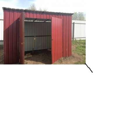 Хозблок металлический в г. Орск Фото 1