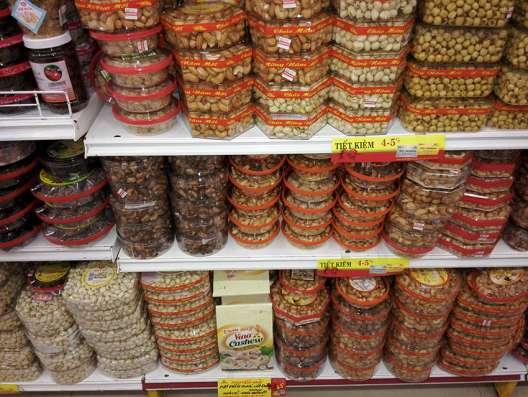 Орехи и семена из Вьетнама (кешью, арахис, кунжут, и др) в Москве Фото 1