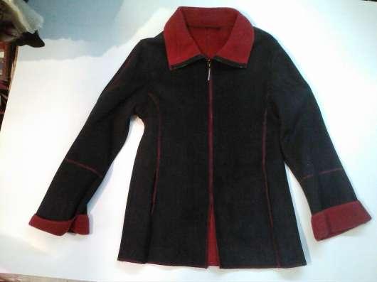Короткая кожаная женская куртка, б/у, в хорошем состоянии в Барнауле Фото 5