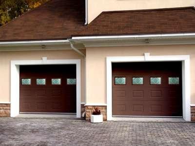 Ворота секционные в Краснодаре Фото 3