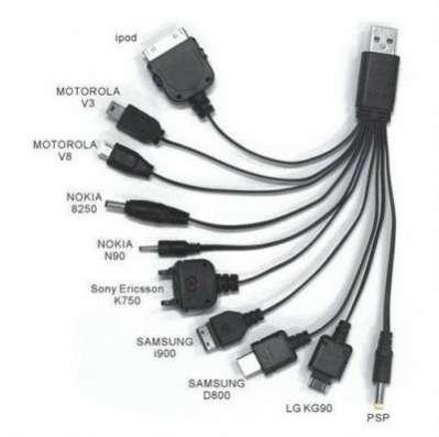 10 в 1 универсальный зарядный кабель