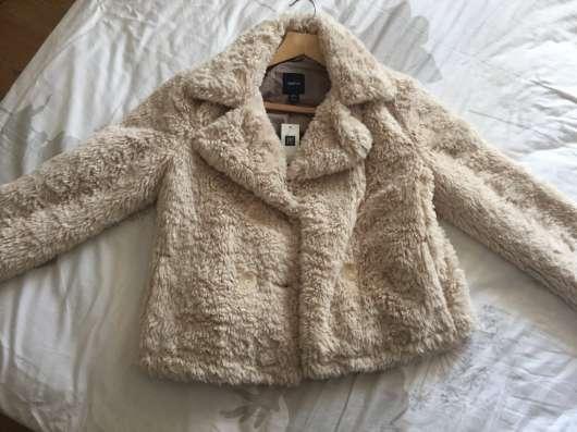 Меховая куртка детская